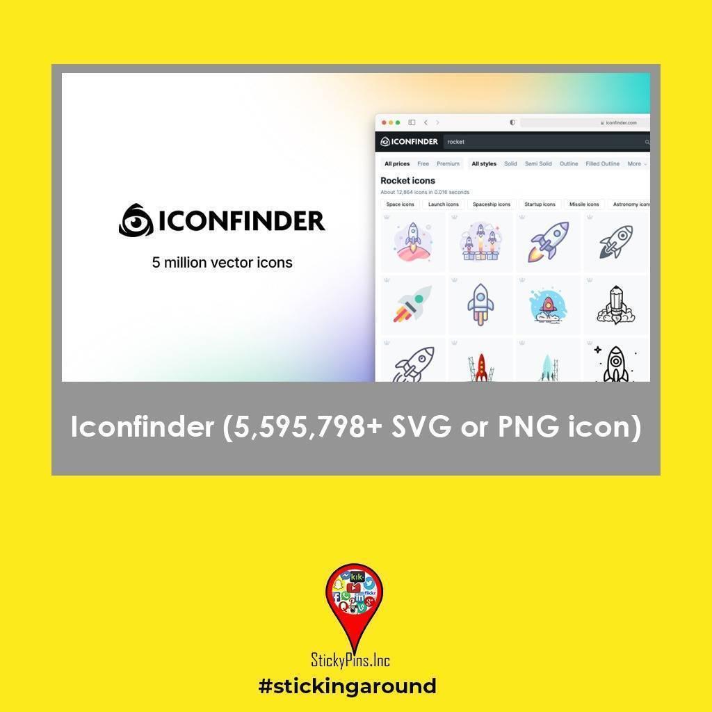 Iconfinder - Stickypins
