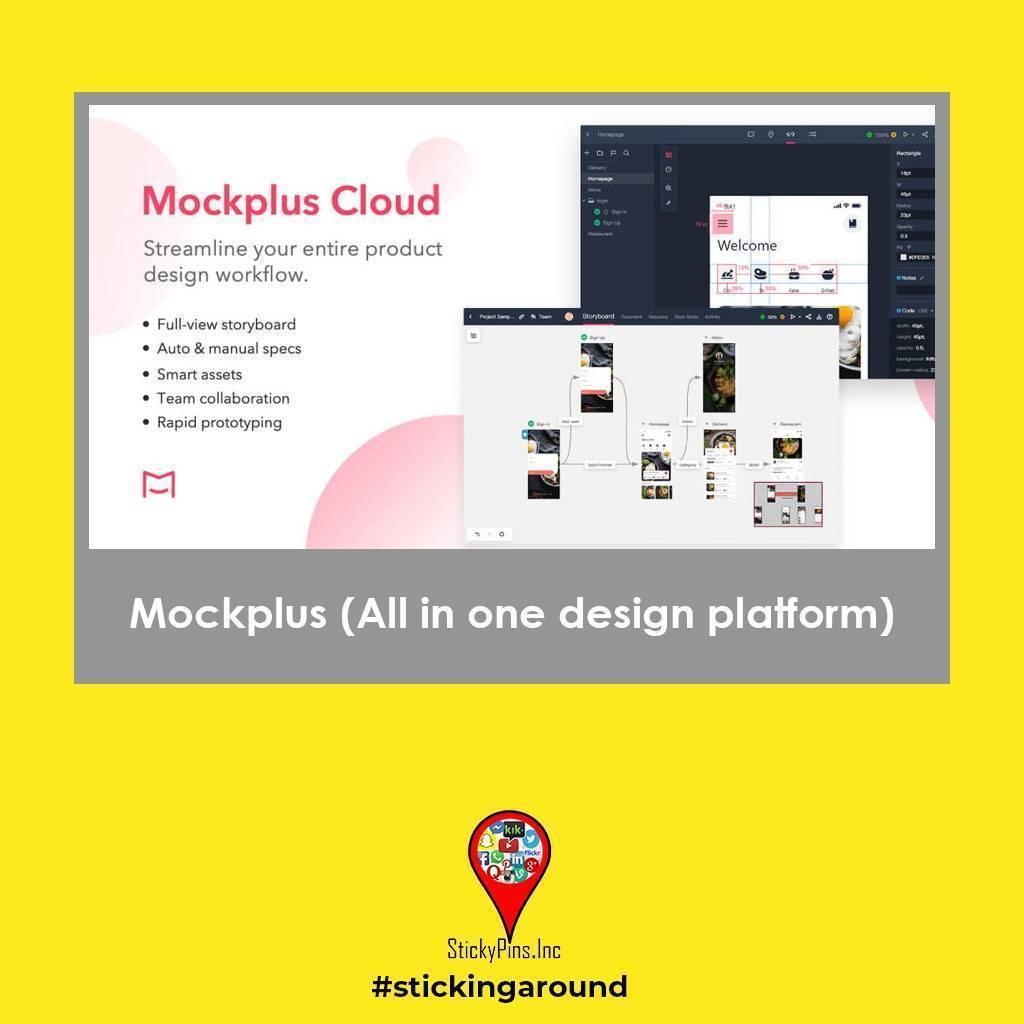 Mockplus - StickyPins